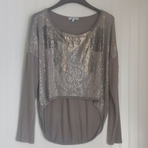 Tempo Paris sequined long sleeve